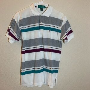 vintage kings court polo shirt mens medium